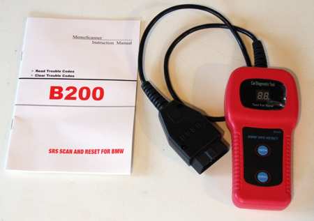 B200 and instruction booklet